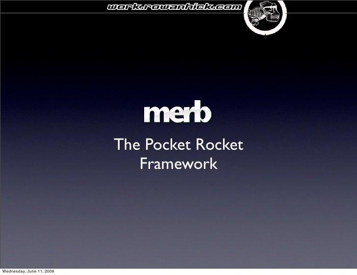 Merb The Super Bike Of Frameworks