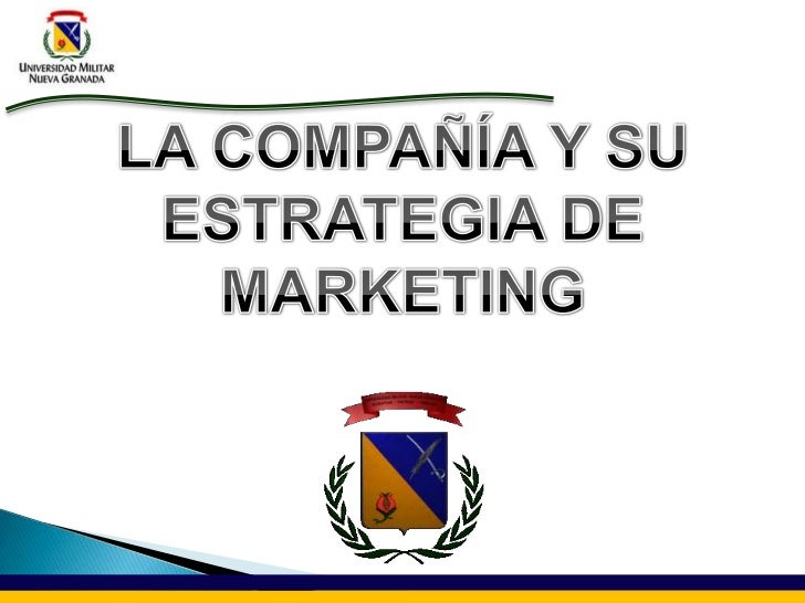  Definir el papel del marketing Largo Plazo: Plan de Juego Adaptación de la Compañía Planes detallados y específicos