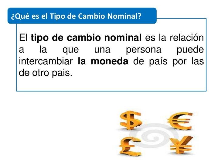mercado de divisas tipos de cambio