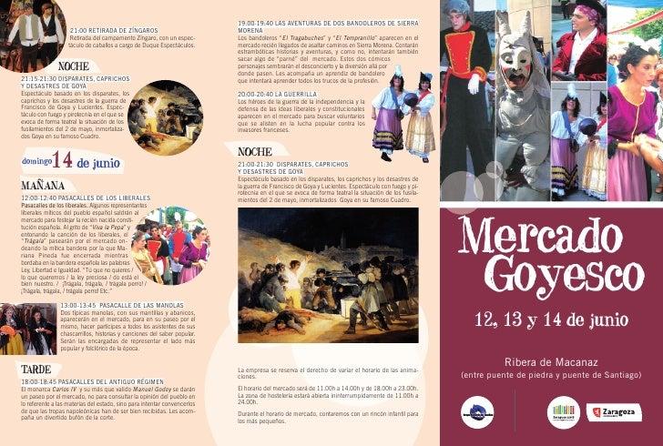 Mercado Goyesco Zaragoza