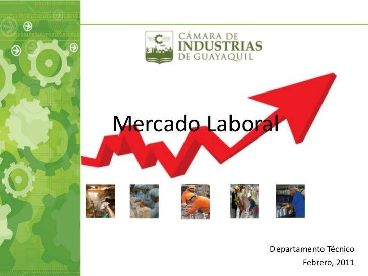 Mercado Laboral              Departamento Técnico                     Febrero, 2011                               1