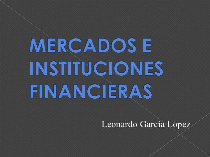 Leonardo García López