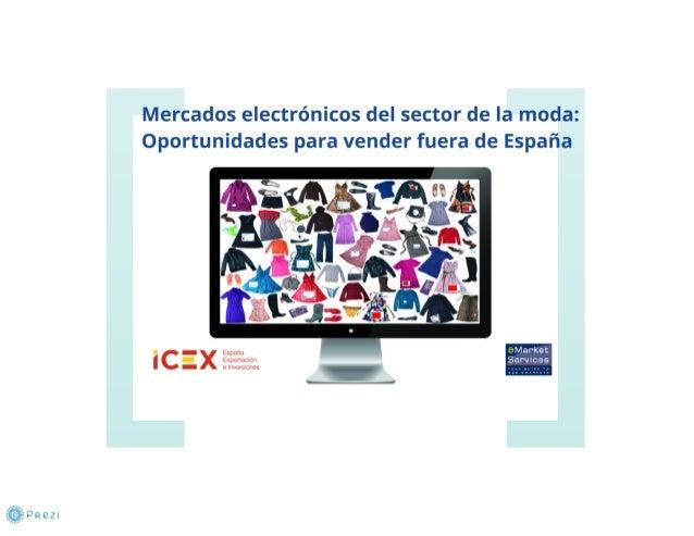 Mercados electrónicos del sector de la moda, oportunidades para vender en el exterior