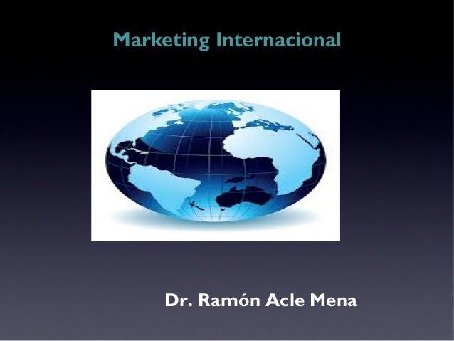 Mercadotecnia internacional ieu 2014