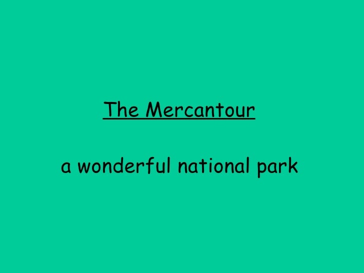 The Mercantour   a wonderful national park