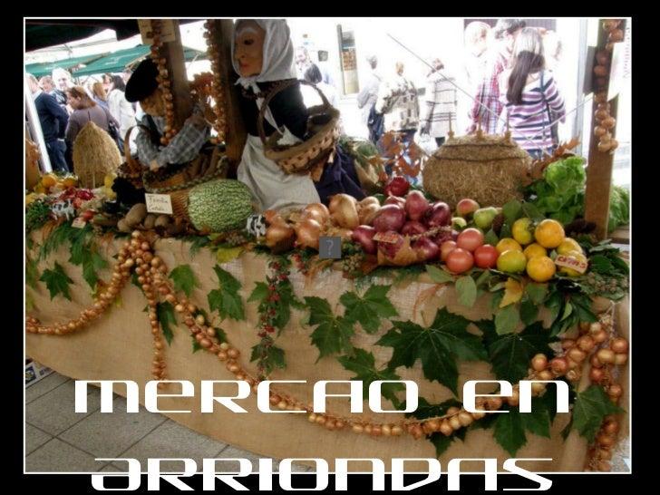 Mercado en Arriondas