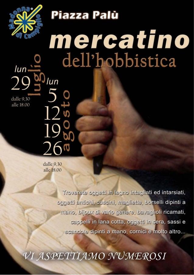 Mercatini dell'hobbistica