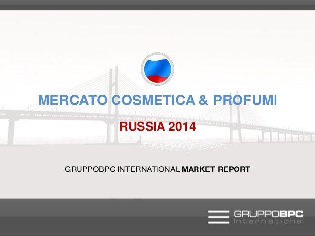 Abstract - Mercato cosmetici & profumeria - Russia 2014