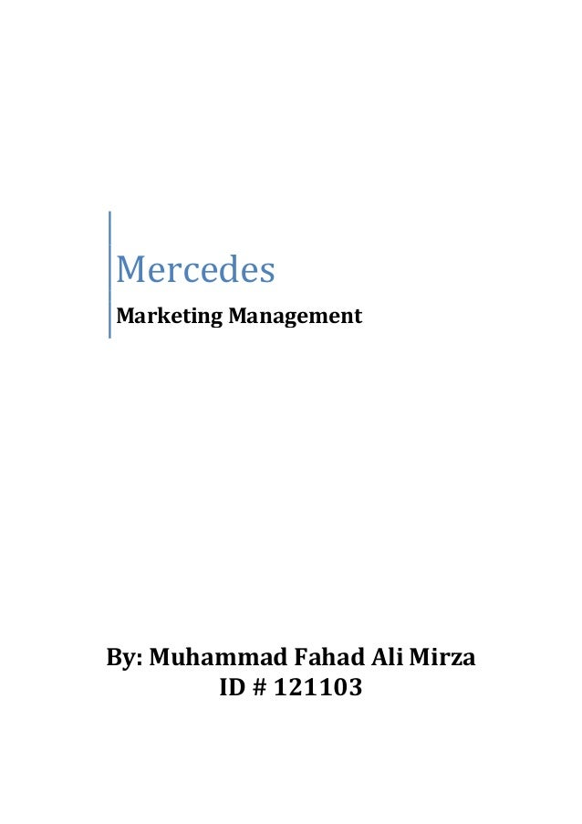 What Mercedes could do to target the middle class customer....