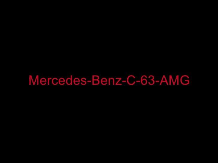 Mercedes-Benz-C-63-AMG a