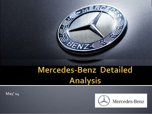 Mercedes benz and its competitors in india analysis 2014 for Mercedes benz marketing mix