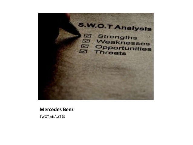 Mercedes benz swot analysis