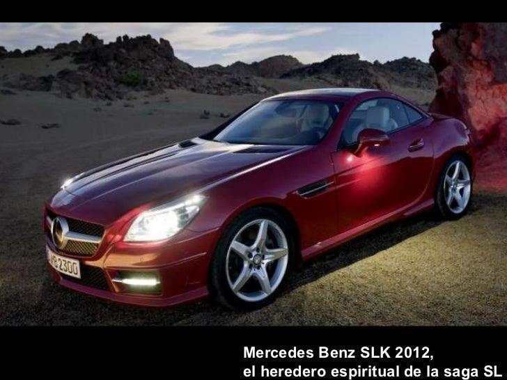 Mercedes benz slk 2012