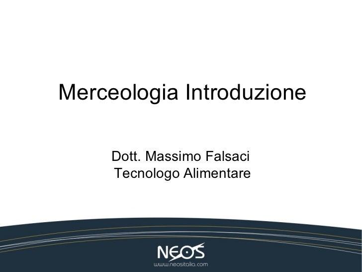 Introduzione alla Merceologia
