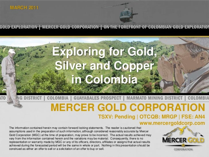 Mercer Gold Presentation   March 2011