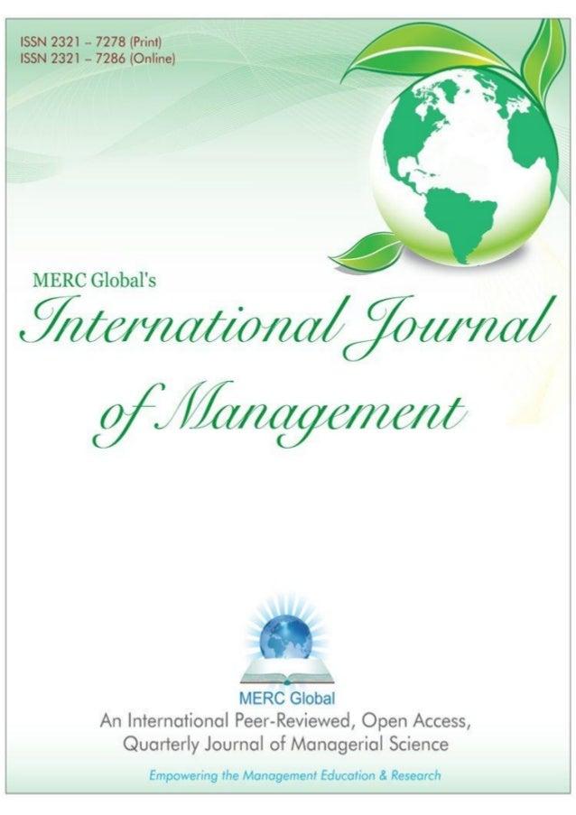 Merc global's ijm (vol 1, iss 1, july 2013)