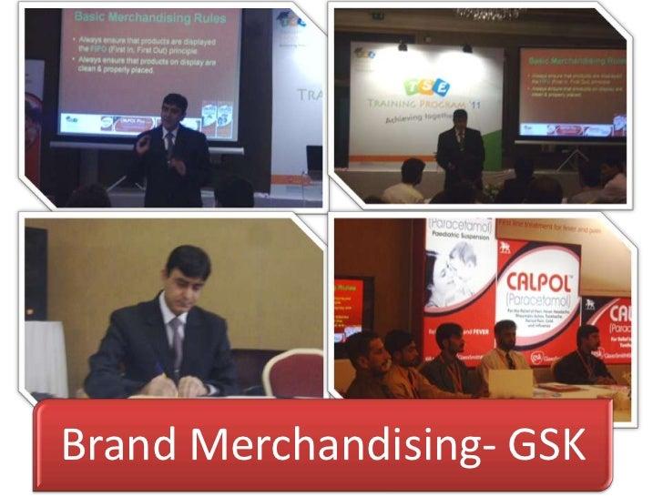 Brand Merchandising- GSK