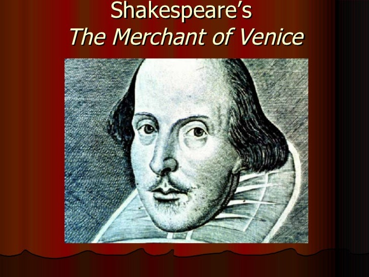 merchant of venice essay topic
