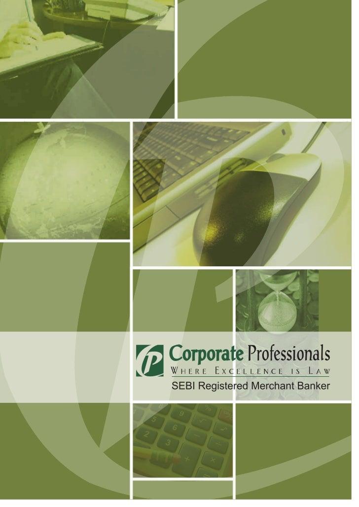 Merchant Banking Brochure