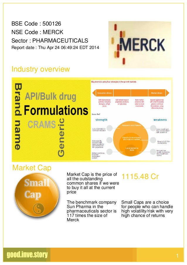 pharmaceutical industry and e merck ag At merck, we seek to discover the impact of pharmaceutical industry regulation and healthcare legislation in the united states and internationally.