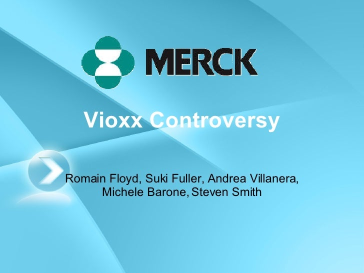 merck vioxx Rofecoxib / ˌ r ɒ f ɪ ˈ k ɒ k s ɪ b / is a nonsteroidal anti-inflammatory drug that has now been withdrawn over safety concernsit was marketed by merck & co to treat osteoarthritis, acute pain conditions, and dysmenorrhea.