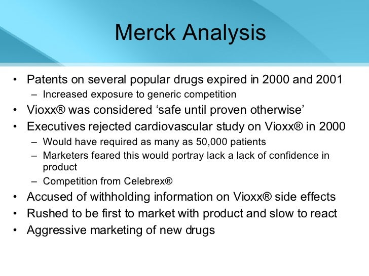 merck vioxx Company: merck settlement amount: $950 million drug: vioxx year: 2011 vioxx  had been a notorious drug for at least 7 years when merck ($mrk) agreed to.