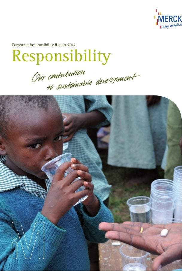 Merck corporate social responsibility - Merck CSR report 2012