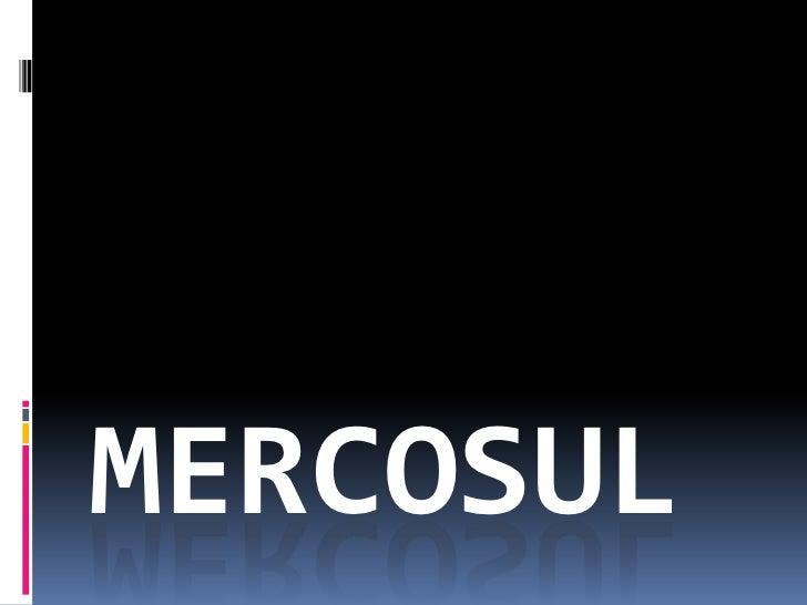 MERCOSUL<br />