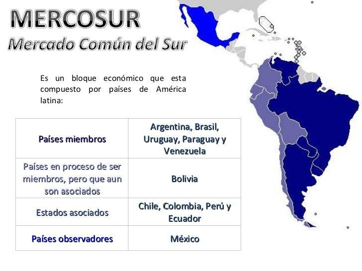 Chile busca fortalecer relación con el Mercosur