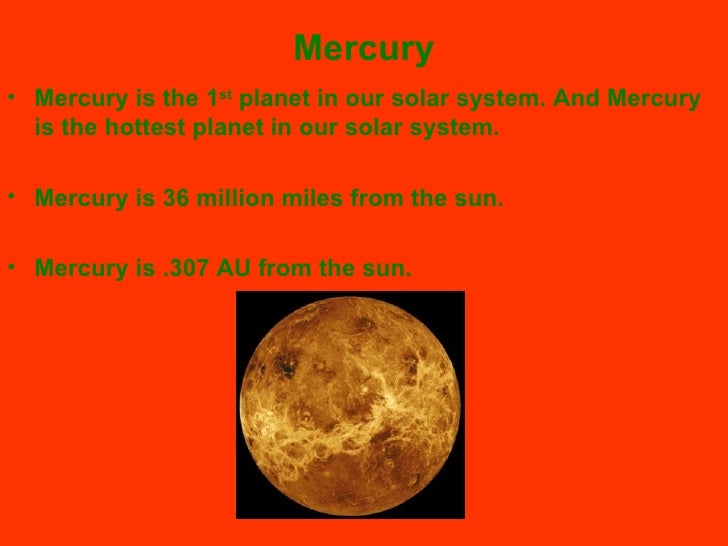 planet mercury projects - photo #6