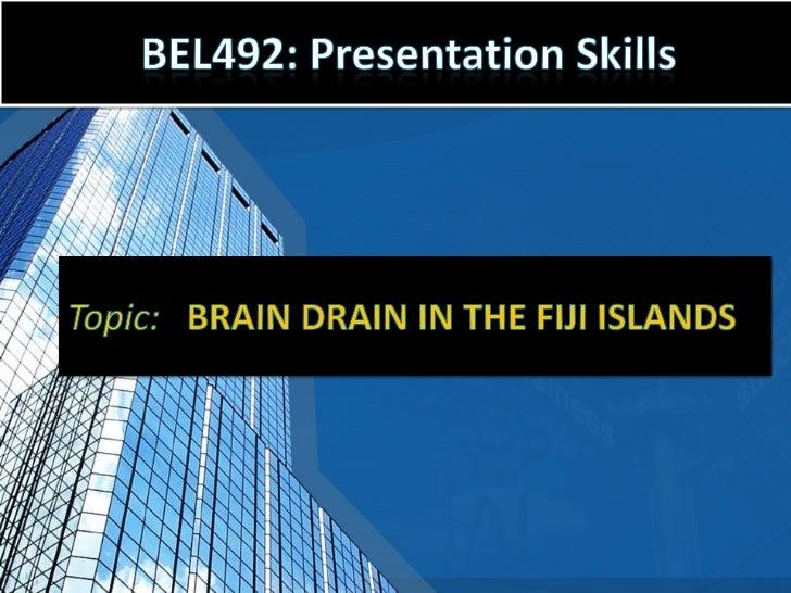 Brain-Drain in Fiji