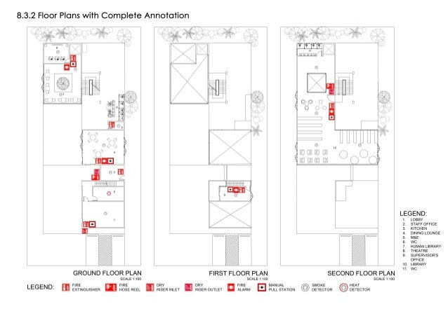 building services project 2 drawings and diagrams