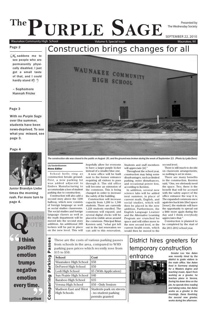 ���               �����������  Waunakee Community High School                                                             ...