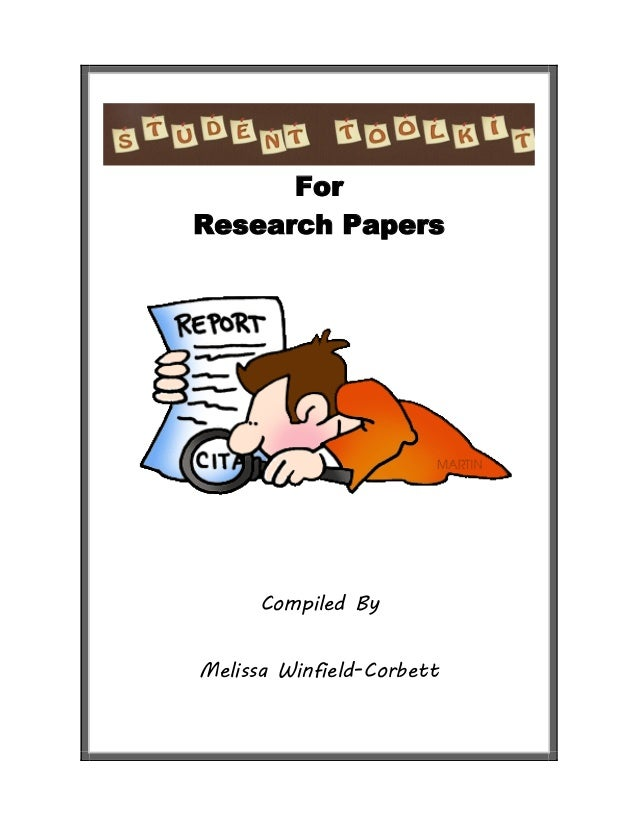Student Tool Kit for Research Papers
