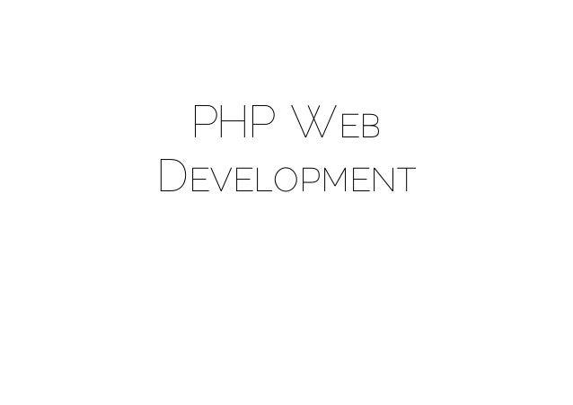 PHP WEBDEVELOPMENT