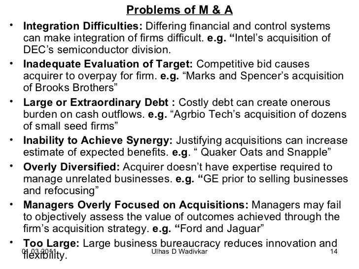 mergers and acquisitions mba notes pdf