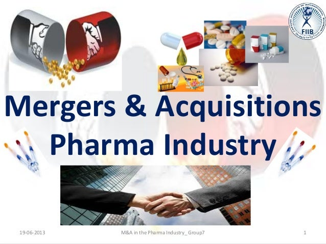 Mergers & acquisitions pharma industry
