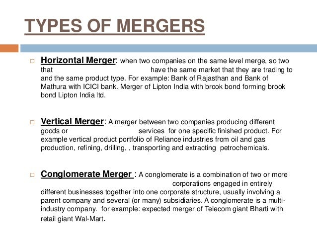 horizontal mergers Last month, leaders of the doj antitrust division announced key points of emphasis in curtailing anti-competitive mergers and acquisitions president trump's recently appointed antitrust division chief, makan delrahim, saidmore.