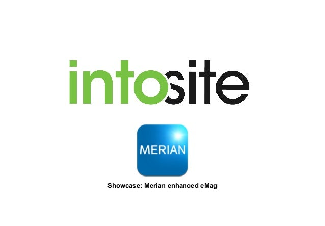 Showcase: Merian enhanced eMag