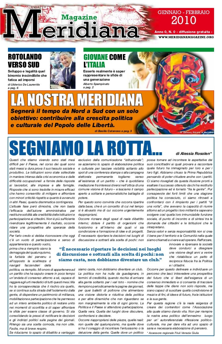 GENNAIO - FEBBRAIO                                        Magazine                                                        ...
