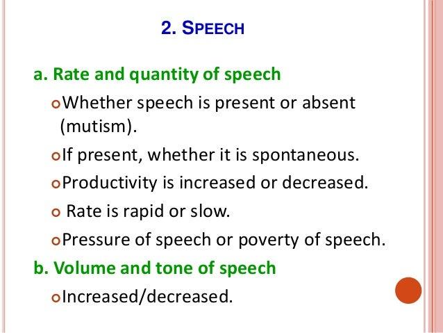 poverty speech