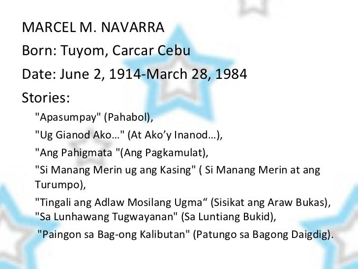 Ang Hunsoy sa Digma at Halos Isang Pag-ibig ni Marcel M. Navarra