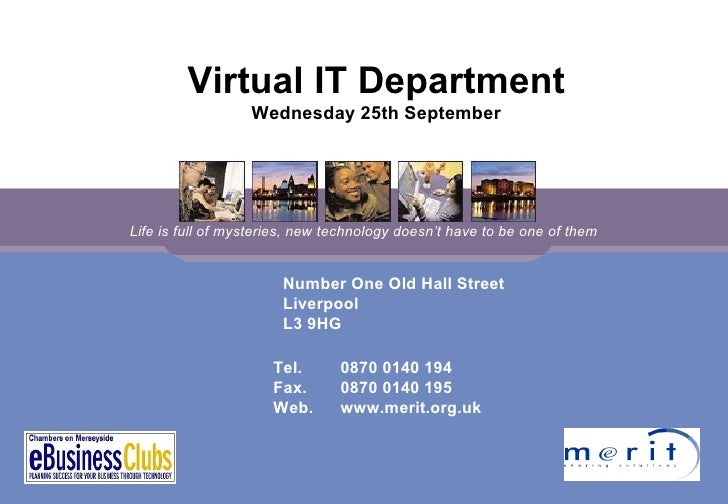 Number One Old Hall Street Liverpool L3 9HG Tel. 0870 0140 194 Fax.  0870 0140 195 Web. www.merit.org.uk Life is full of m...