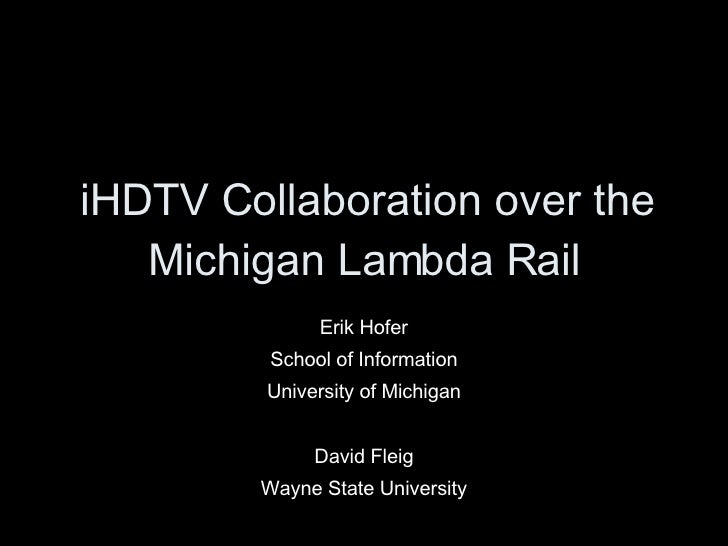 MiLR Collaboration - Merit MM 2008