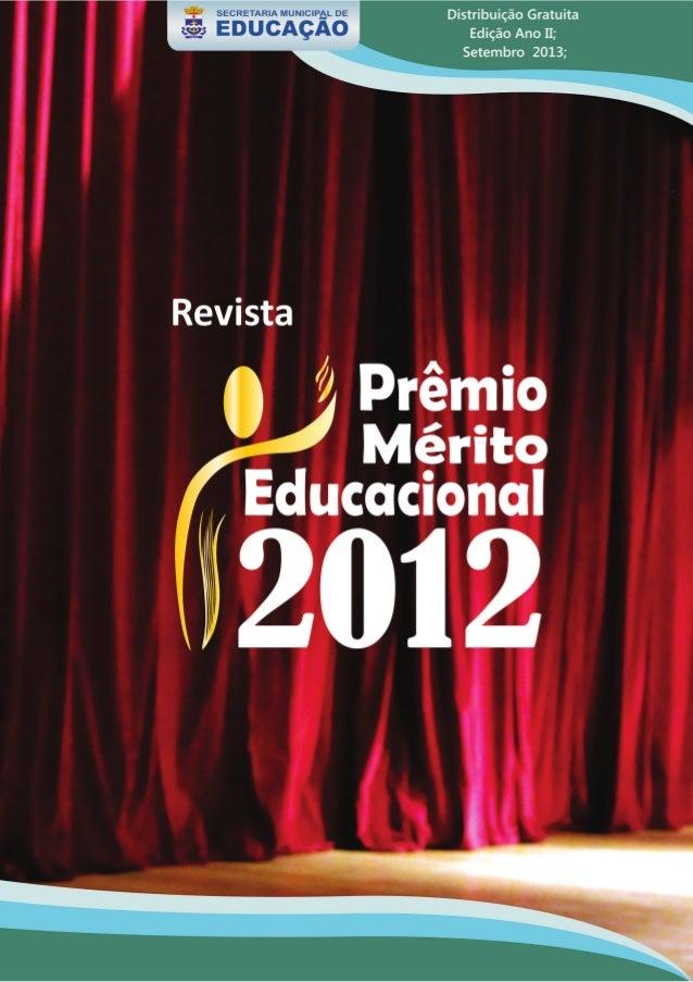 Mérito Educacional de 2012