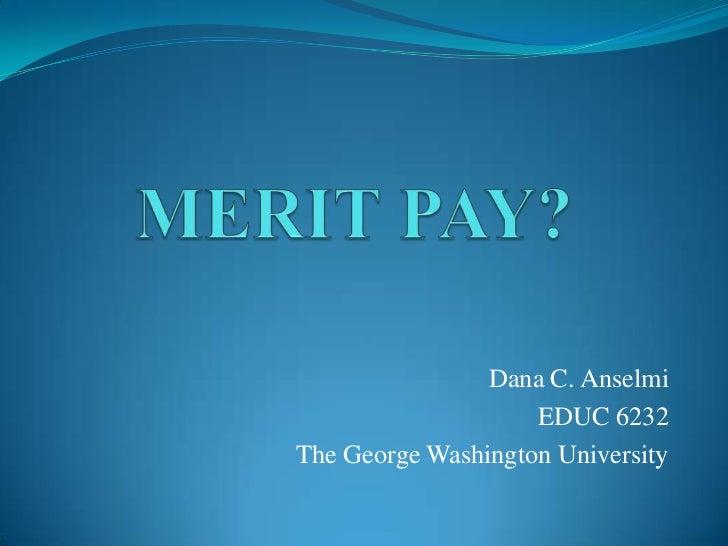 Merit pay presentation