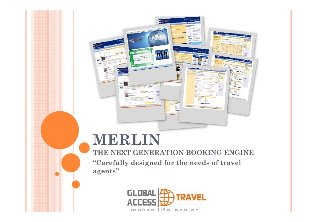 MERLIN  THE NEXT GENERATION BOOKING ENGINE