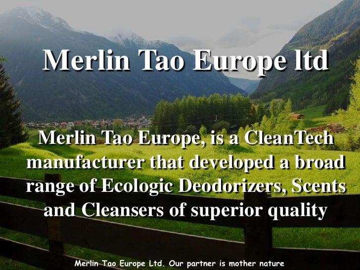 Merlin tao europe presentation