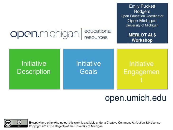 MERLOT Affordable Learning Solutions Workshop