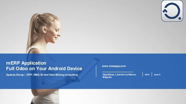 Merp. Full Odoo Android Client presentation, June 5, 2014
